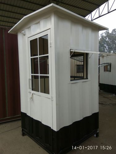 Security Hut Container Security Cabin Manufacturer From