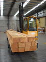 Plywood and Timber Handling Forklift Truck