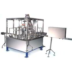 Automatic Rotary (Station) Bottle Rinsing Filling Machine