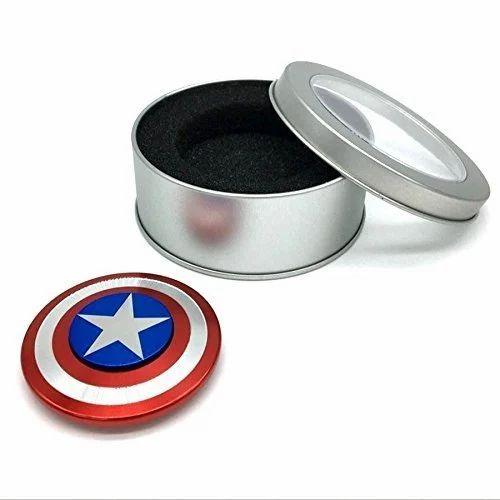 Captain America Shield Metal Hand Spinner Fidget