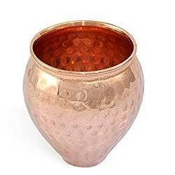 Copper Matka Design Glass
