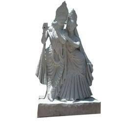 FRP Radhakrishna Statue