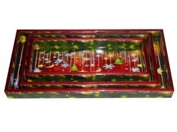 MDF Wooden Tray sets
