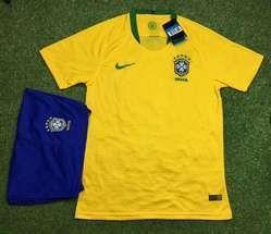 Football Jersey Brazil Home Away Kit