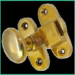 Casement Fastener Oval Head (Brass)