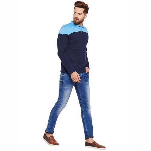 33475fcf1ff Men S Fancy T Shirt Men Full Sleeve T Shirt Manufacturer From Vadodara