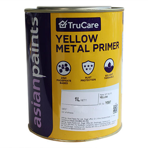 Metal Coating Red Oxide Zinc Chromate Yellow Primer