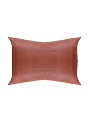 Leather Throw Pillow cover