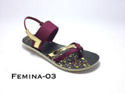 Lehar PU Ladies Sandals