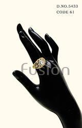 Cubic Zircon American Diamond Finger Ring