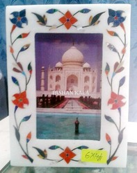 Decorative Stone Inlay Picture Frame