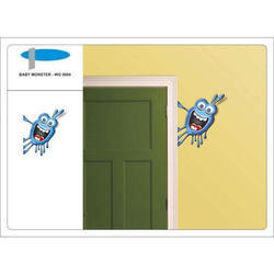 Baby Monster Wall Graphics with 3D Effect