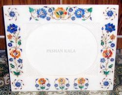 Marble Stone Decorative Inlay Photo Frame