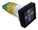 LED Semaphore Indicators-22.5 cutput-square