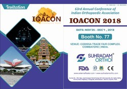 you are invited for IOACON 2018 from SUHRADAM ORTHO [Gujarat]