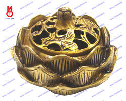Lotus Dhoop Burner With Lid