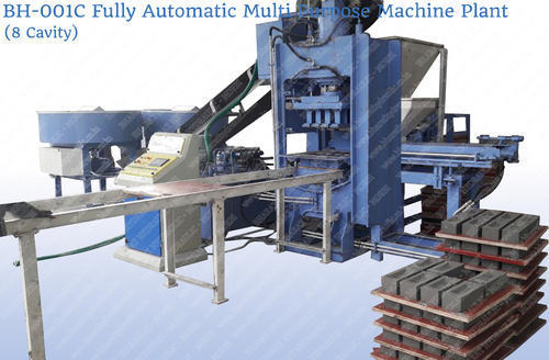 Fully Automatic Multi Purpose Brick Plant (8 Cavity)
