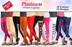 Printed Cotton Legging
