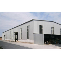 Galvanized Finish Industrial Shed