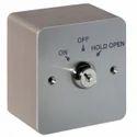 3 x 3 Stainless Steel Key Switch