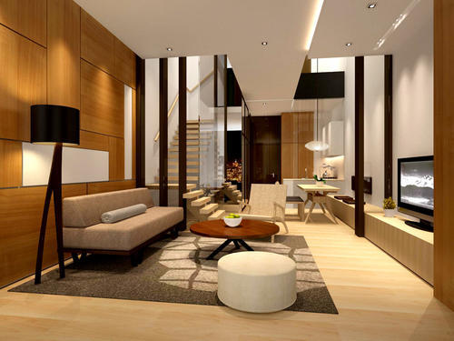 Home Interior Designing Services - Drawing Room Interior Designing