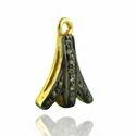 Pave Diamond Charms