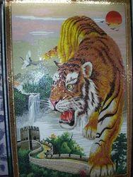 Artistic Handcut Mosaic Mural Avion Mosaics