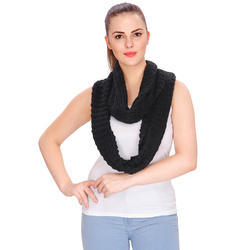 Acrylic Solid Infinity Scarf