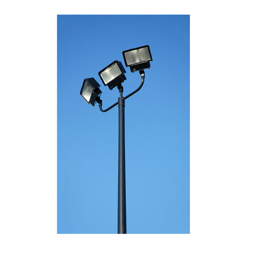 Lighting Poles   Hot Dip Galvanized Octagonal Pole Manufacturer From Rajkot