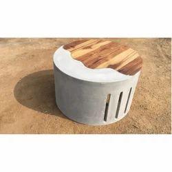 Concrete Round Countertop