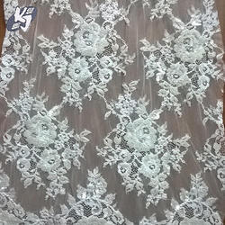 Embroidery Chantilly Lace Fabric