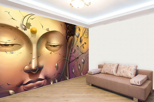 Etonnant Buddha Wallpaper For Living Room