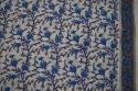 Indian Hand Block Printed 100 % Cotton Fabric Sanganeri Print