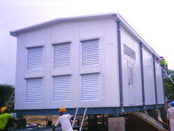 Control Room Inverter Room - Prefab Buildings