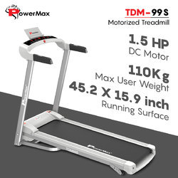 Powermax Tdm-99s Motorized Treadmill