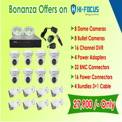 Special Bonanza Offer On Hi - Focus 1mp CCTV Camera  Kit