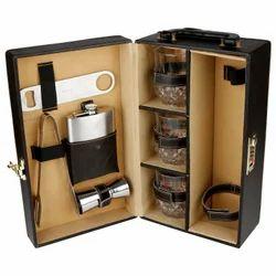 Brown - 03 - Travel Bar Accessories Set