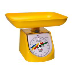 Yellow Kitchen Weighing Scale