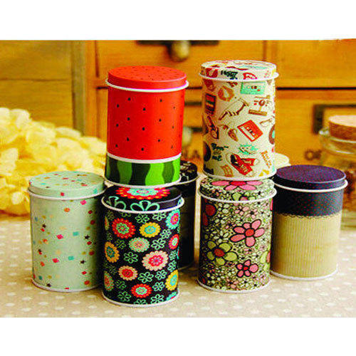 Decorative Cans Printed Tin Can Manufacturer From New Delhi