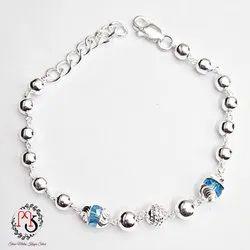 Ladies Stylish Silver Bracelet