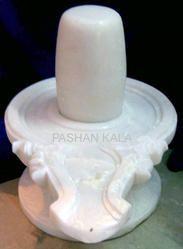 White Marble Shivling
