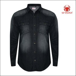 Work Wear Industrial Denim Shirts