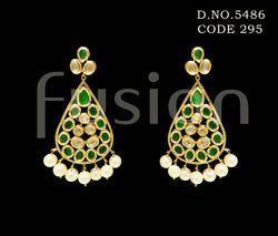 Vilandi Kundan Designer Earrings