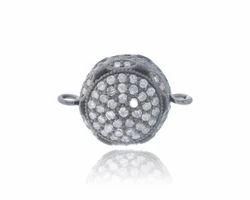 Diamond Connector Bead Finding