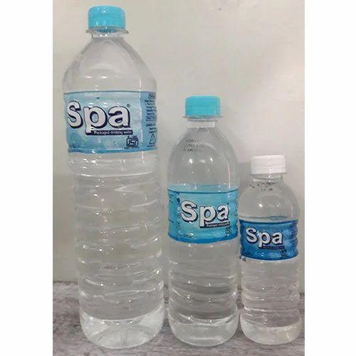 Packaged Spa Water Bottle