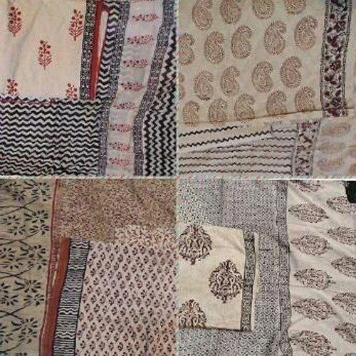 Ladies Dress Material Bagru Prints Suits Sets