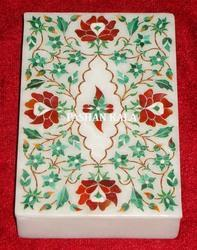 Marble Stone Inlay Jewellery Box