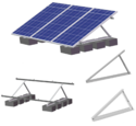 Multi-Frame Solar Panel Mounting System