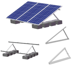 Multi-Frame Solar Panel Mounting System