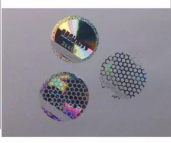 De-Metalized Holograms